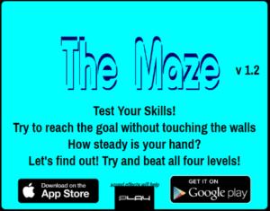 Scary Maze Game - タイトル