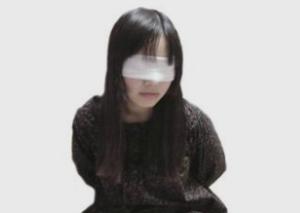 桃寿 - 目隠し