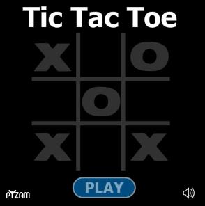 tic tac toe title